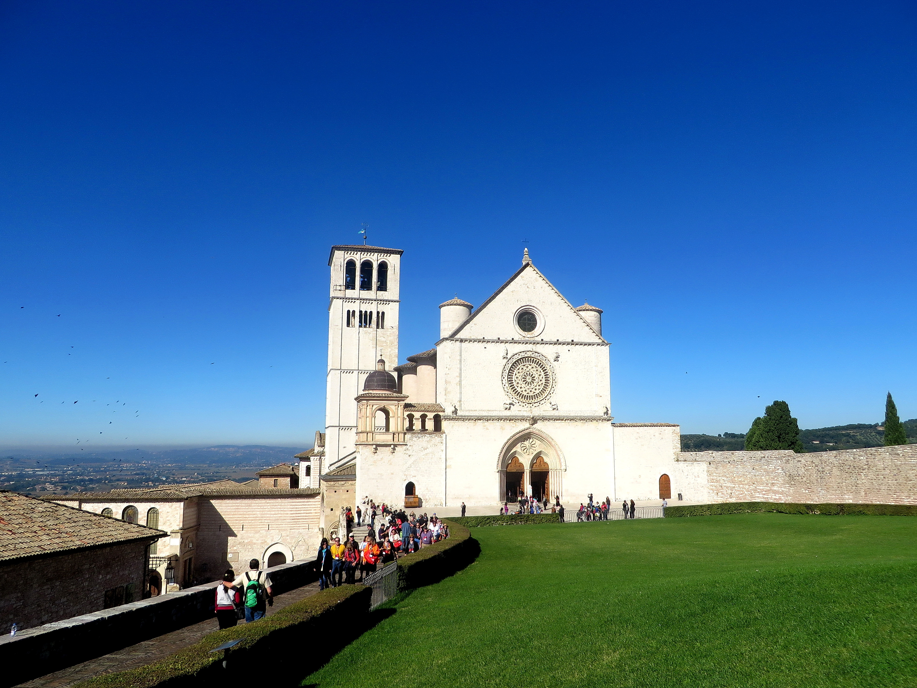 50 St Francis Basilica in Assisi