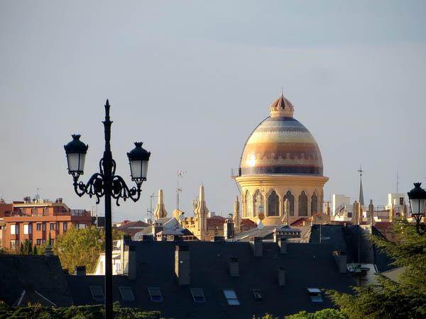 Madrid St Teresa church