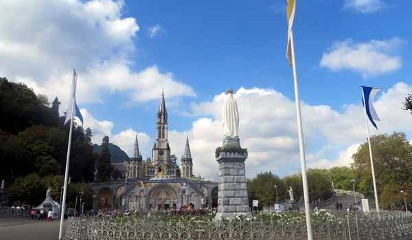Southern Cross 'Catholic France' with Lourdes: October 2019