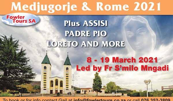 Medjugorje • Rome • Assisi • Padre Pio: March 2021