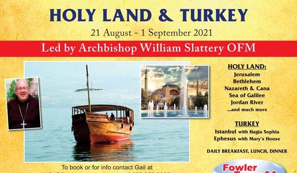 Holy Land & Turkey (with Ephesus) Aug 2021