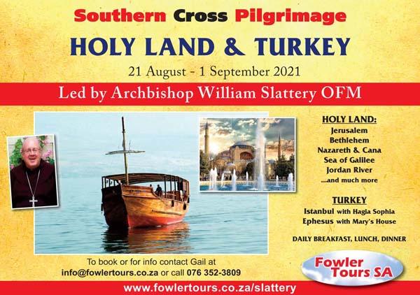 Holy Land & Turkey (with Ephesus) Aug 2021